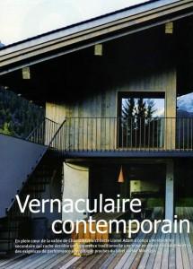 Chalets Mossaz Architecture àvivre Maisons N°46