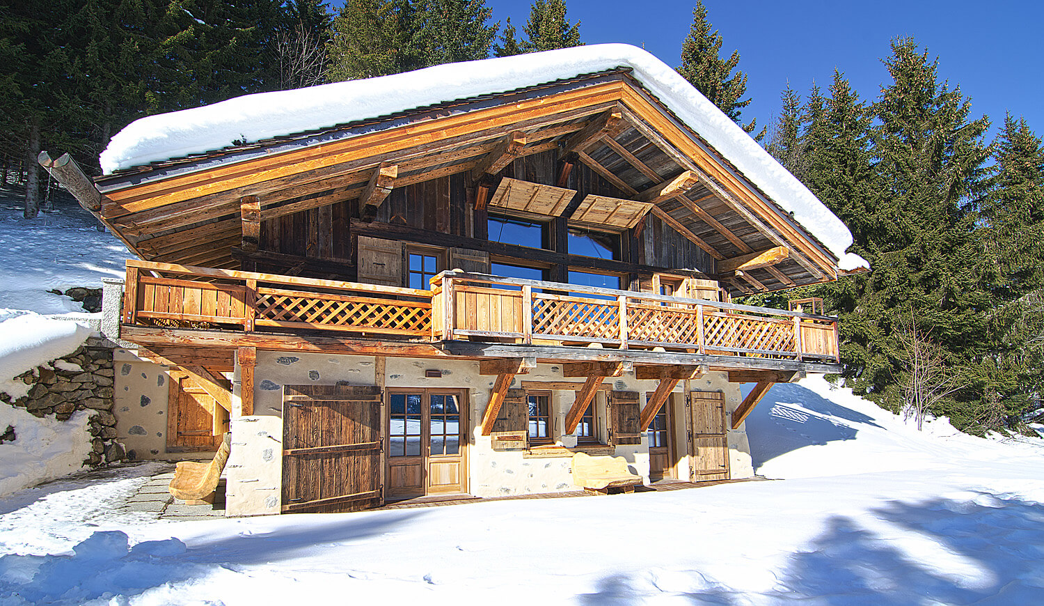Chalet à vendre à Saint Gervais - Chalet for sale in Saint Gervais