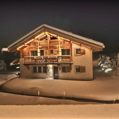 Ski in and out chalet